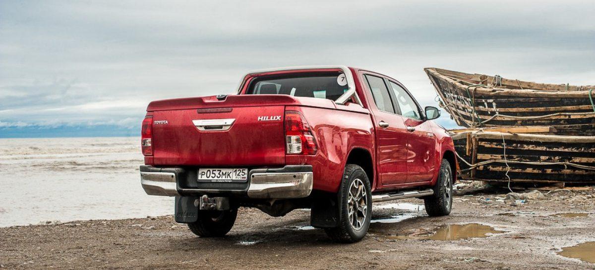 Оснащение нового Toyota Hilux