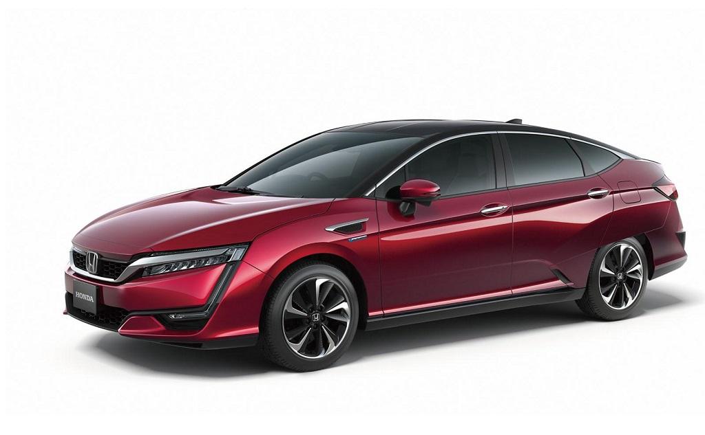 Водородный автомобиль Honda FCV