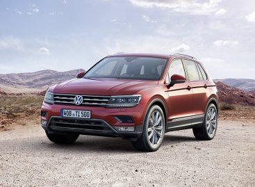 Новый Volkswagen Tiguan сможет тащить прицеп