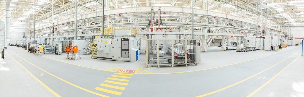 Завод Ford Sollers по производству двигателей в Елабуге