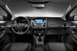 Интерьер Ford Focus 2015