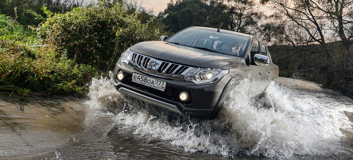 Тест-драйв Mitsubishi L200: Народное техно