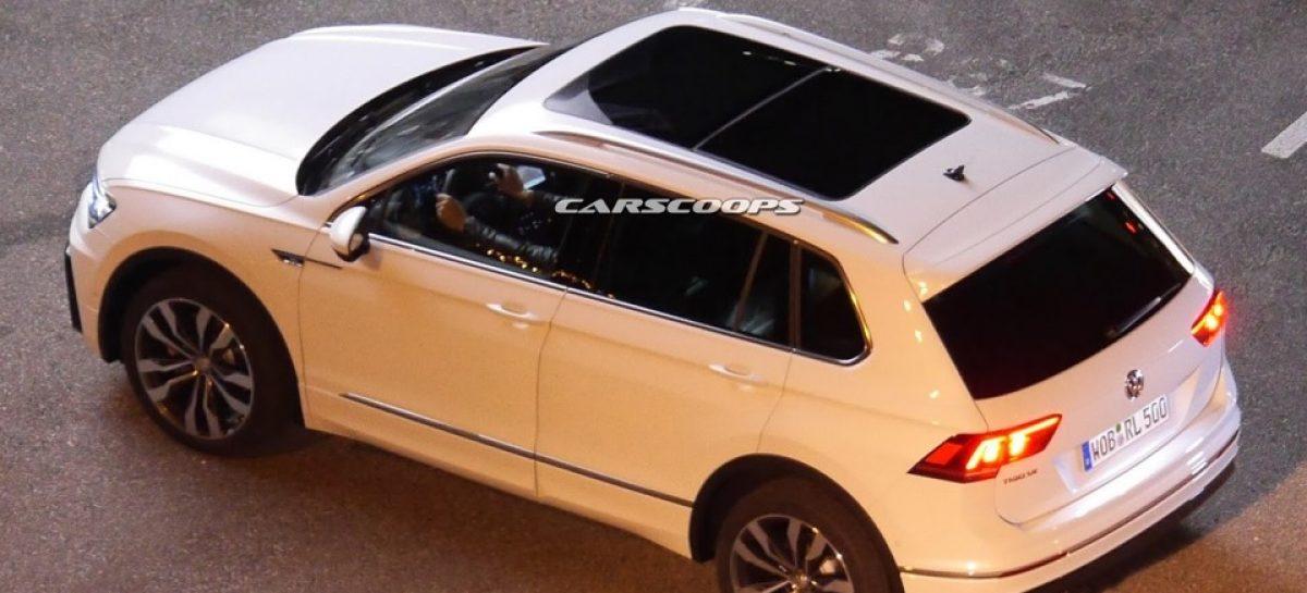 Шпионы сфотографировали новый Volkswagen Tiguan