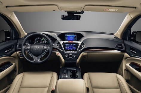 Acura MDX обновлена и доступна