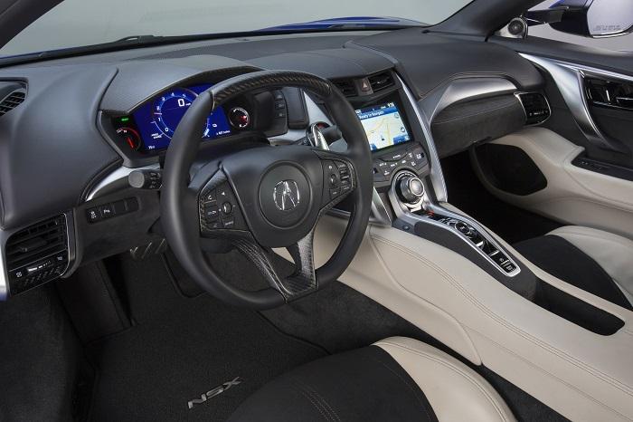 Acura NSX 2017 модельного года
