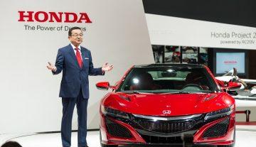 Honda начинает продажи суперкара NSX в Японии