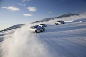 Академия зимнего вождения Mercedes AMG Driving Academy