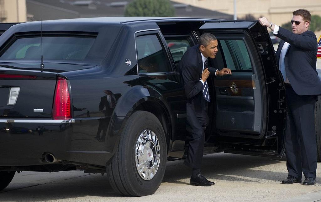 Бронеавтомобиль Обамы