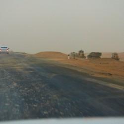 Пыльная буря в пустыне КызылКум
