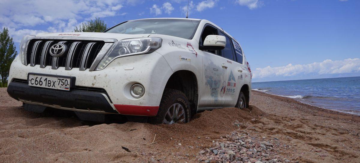 ChinaRally 2015. Киргизия. Лебедимся на Иссык-Куле