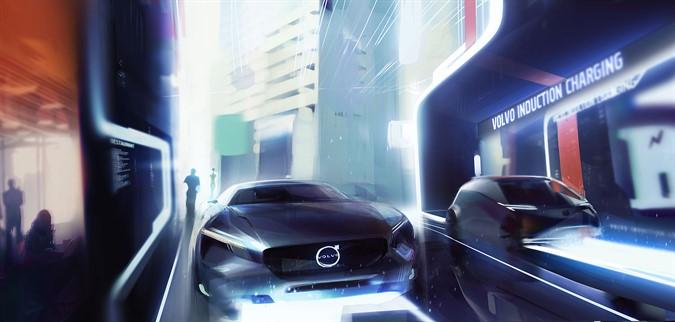 Электроавтомобили и гибриды Volvo - видение будущего