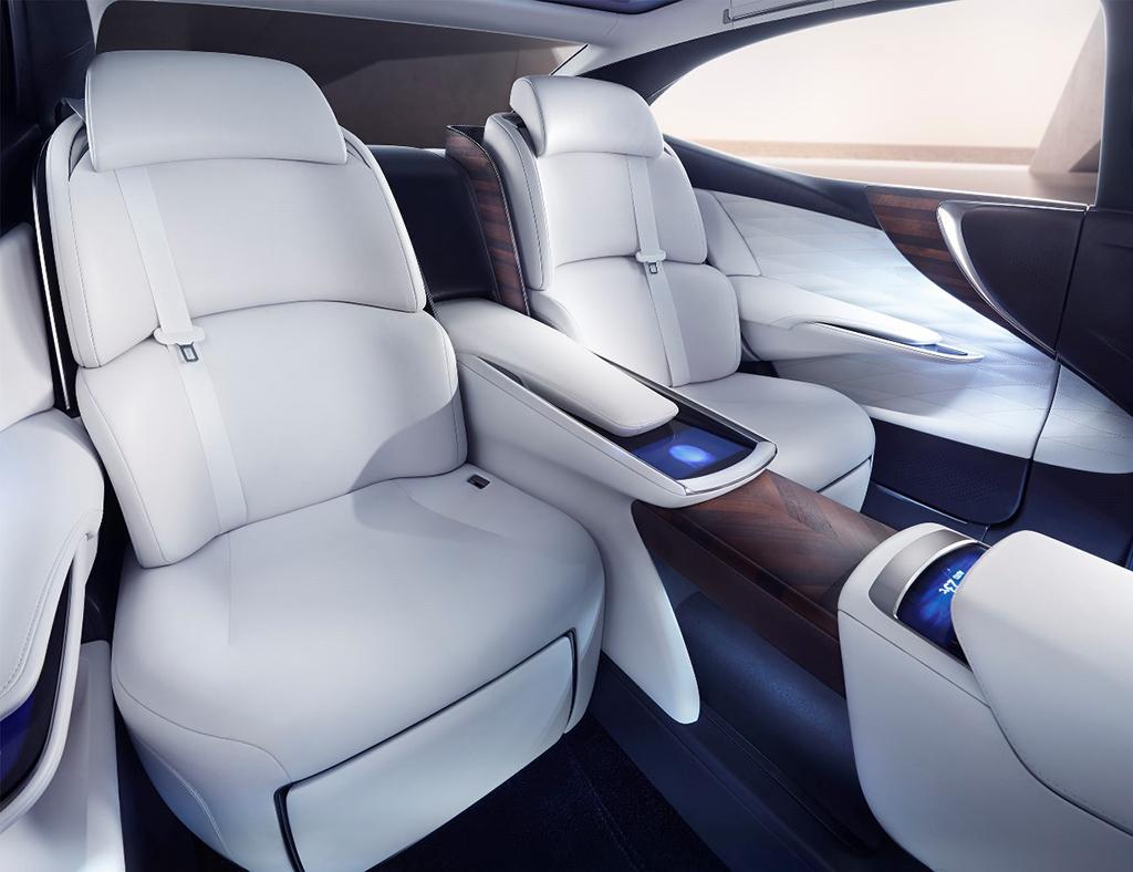 Флагманский концепткар Lexus LF-FC