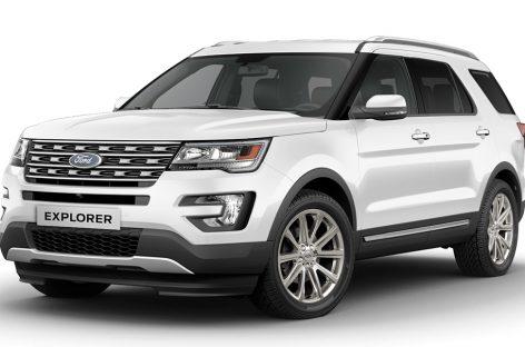 На рынок выходит новый Ford Explorer