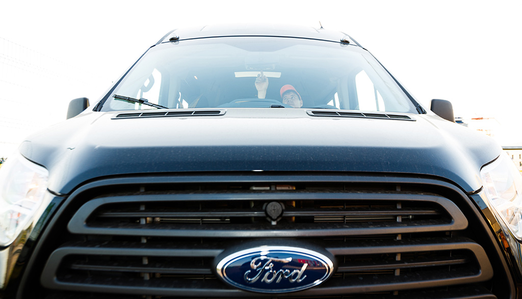 Ford Transit с ЭРА-ГЛОНАСС