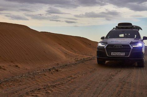 Audi Q7 2015 TFSI — подходит для путешествий
