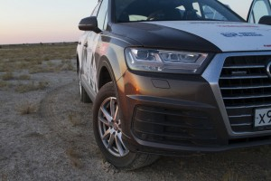 Audi Q7 Волок Туркестан 2015