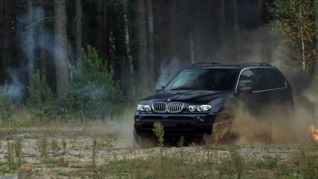 Испытания бронеавтомобилей BMW
