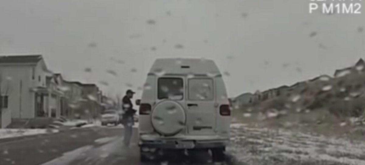 Когда тормознула полиция