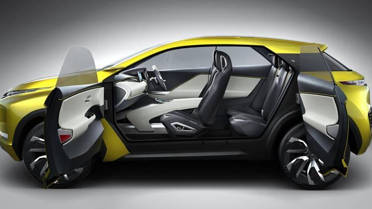 Концепткар Mitsubishi eX