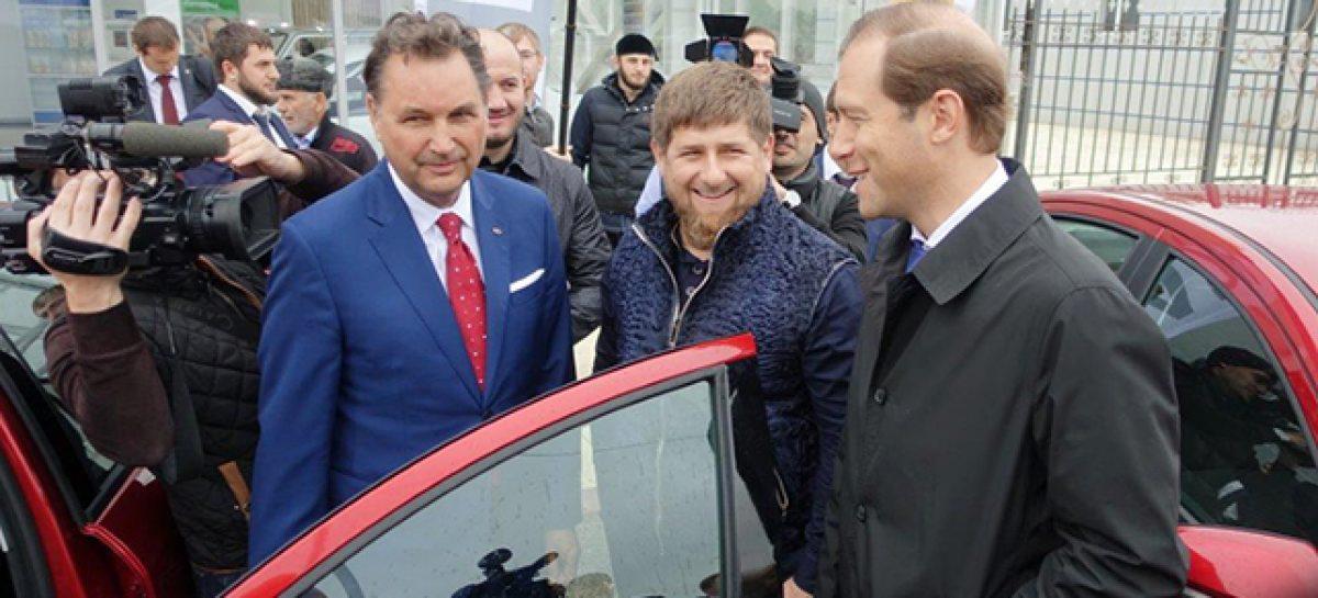 Lada Vesta представили в Чечне
