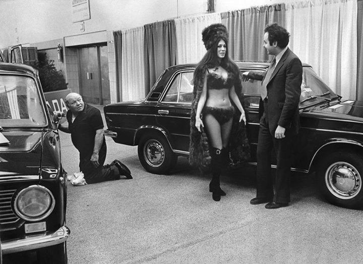 Lada на Нью-Йоркском автосалоне, 1973 год