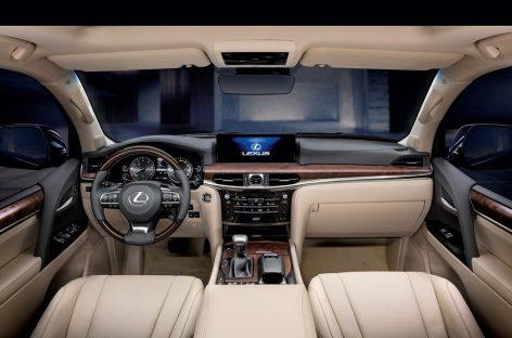 Новый Lexus LX: обзор модели