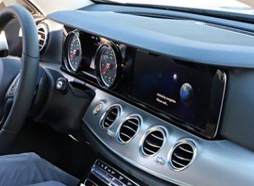 Рассекречен интерьер новейшего Mercedes-Benz E-Class