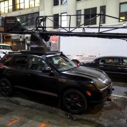 Porsche Cayenne для киносъемочной группы