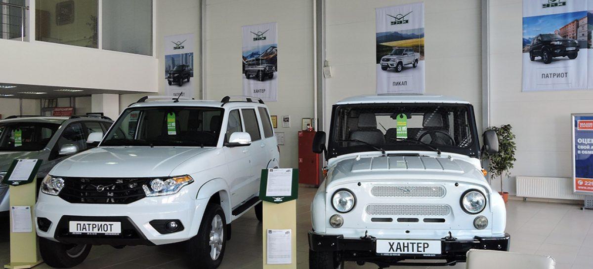 УАЗ поселился в Major Auto