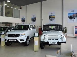 Новый дилерский центр УАЗ на территории Major Auto