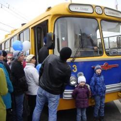 Парад троллейбусов в Москве