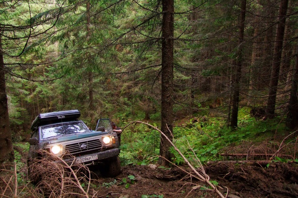 По Украине на Nissan Patrol GR
