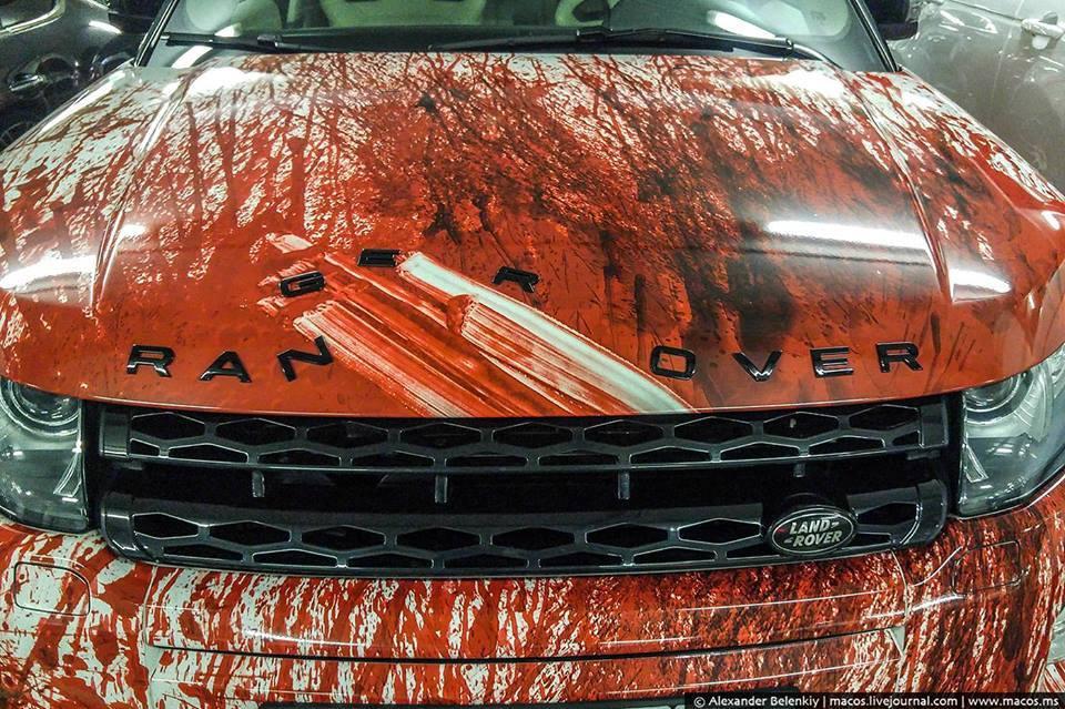 Range Rover, винил