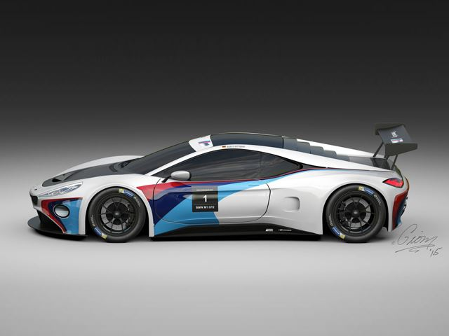 Суперкар BMW M1 - дизайнерский проект
