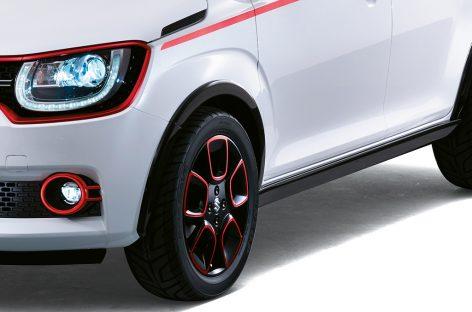 Компактный Suzuki Ignis дебютирует в Париже