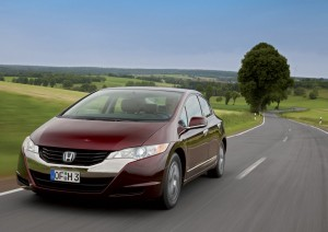 Водородный автомобиль Honda FCX
