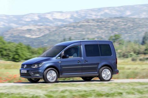 Volkswagen выпускает Caddy на природном газе