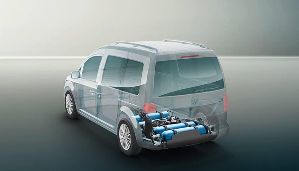 Volkswagen Caddy 4 TGI на газовом топливе
