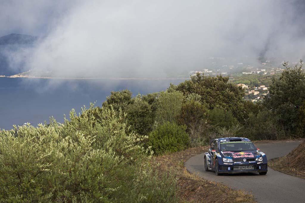 Volkswagen Polo R WRC на Ралли Франции