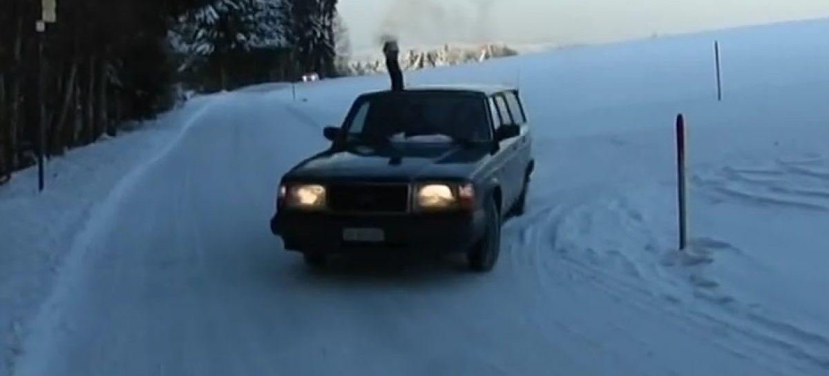 Volvo с дровяной печью