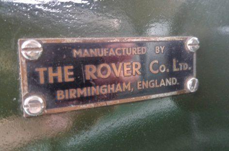 Знакомимся с Land Rover Series I