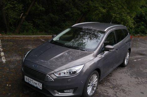 Обновленный Ford Focus в кузове универсал