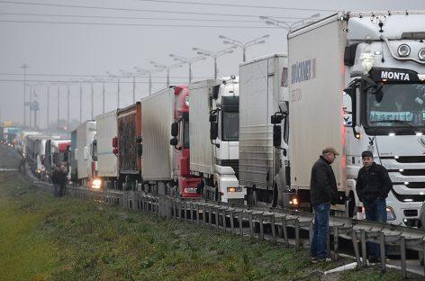 Акция протеста дальнобойщиков прошла не без инцидентов