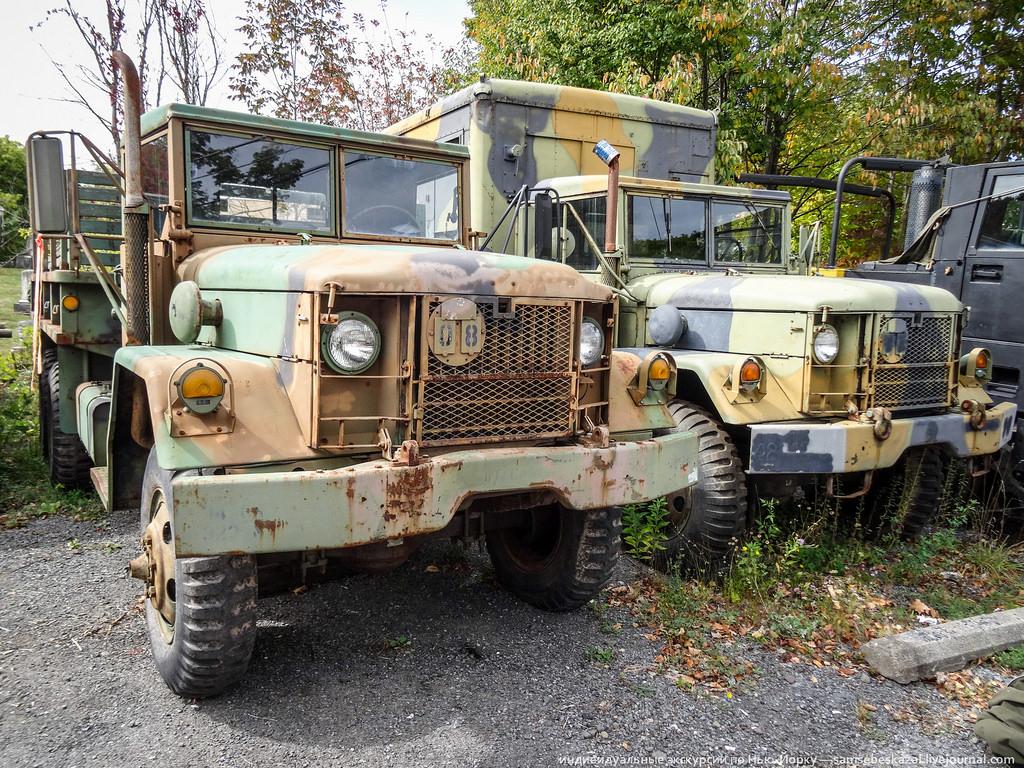 Американские армейские грузовики