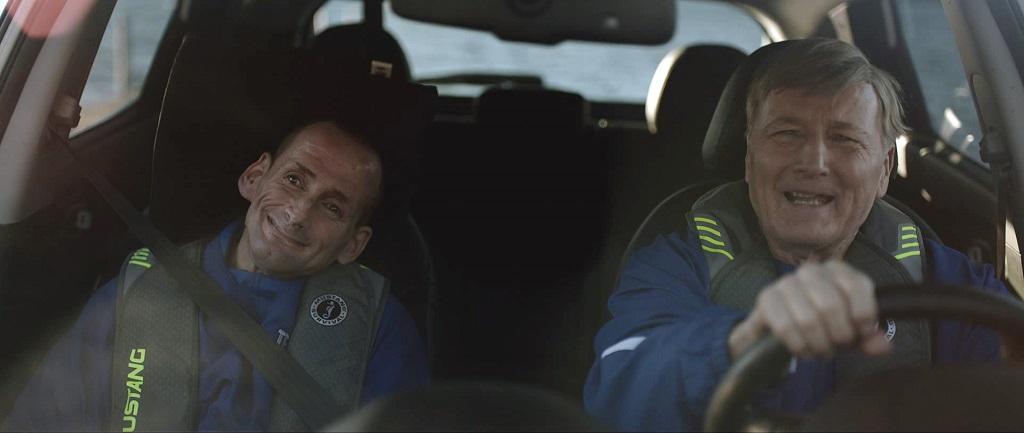 Автомобильный триатлон Hyundai. Отец и сын Хойты