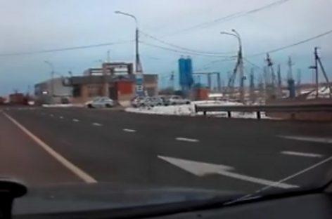 Фуры не пускают в Москву