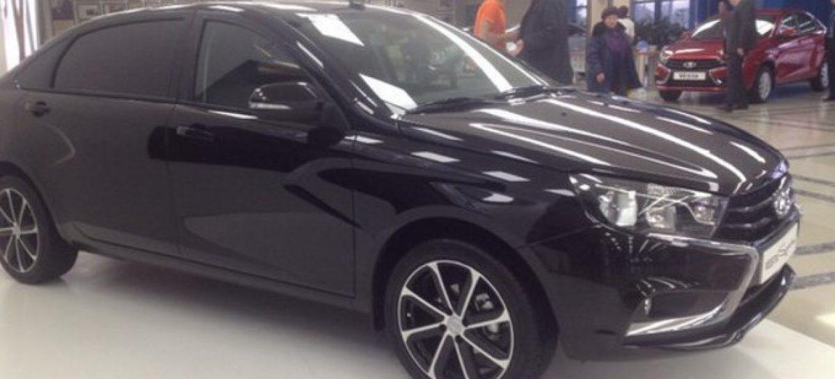 Lada Vesta получит длиннобазную версию
