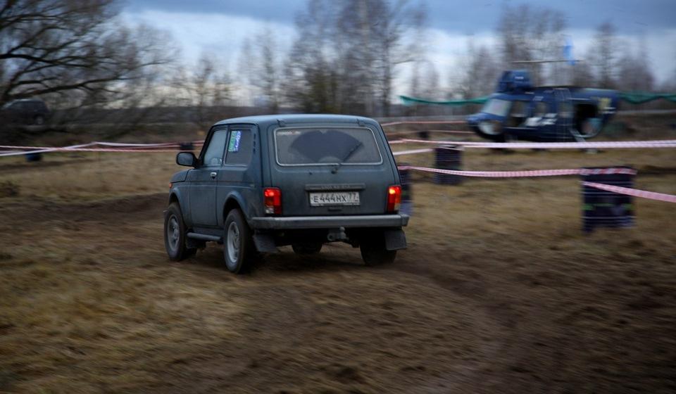 Джип-спринт в Коломне