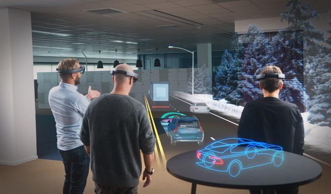 Голографический конфигуратор автомобилей HoloLens