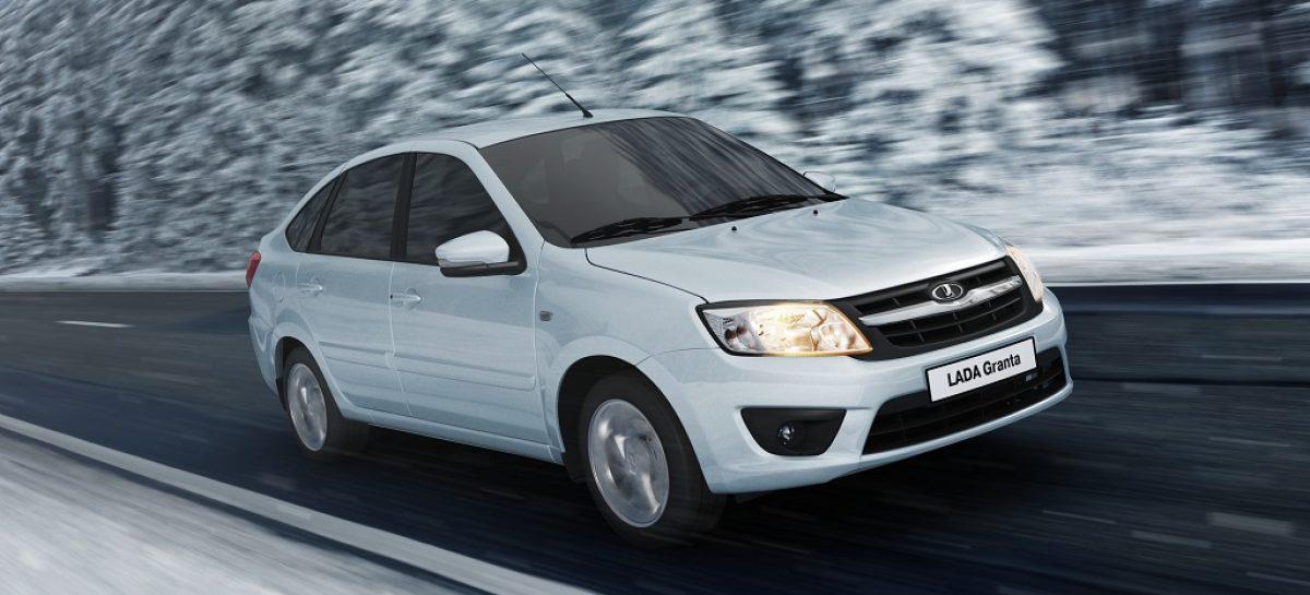Lada усовершенствовала модели Granta и Kalina